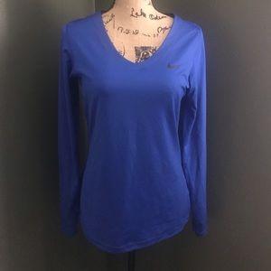 Tops - Blue long sleeve shirt